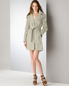 Michael Kors belted trench