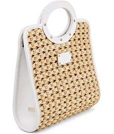 Kate Spade's Darlington straw bag