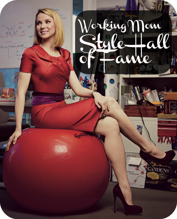 Working Mom Style Hall of Fame: Marissa Mayer