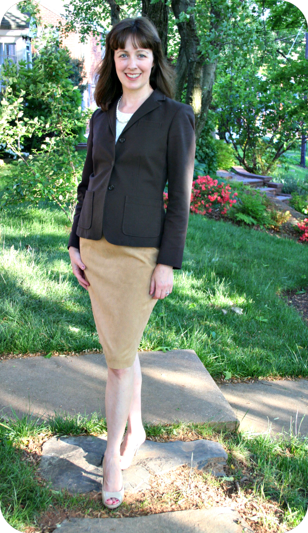 Core Wardrobe working mom outfit idea: How to wear a blazer