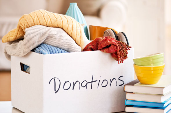 Clean out your closet, then donate your clothing