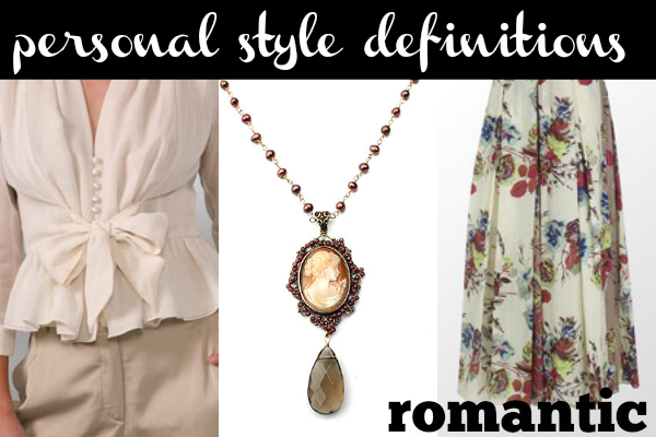 The Romantic style aesthetic is characterized by soft lines and delicate details. Is this your personal style?